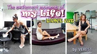 [3D 360 VR] The excitement moments of my life! Dance cut!