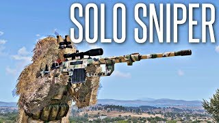 SOLO STEALTH SNIPER! - ArmA 3 King Of The Hill