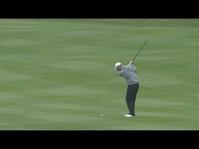 Chris Kirk's near double eagle from 237 yards at Cadillac Match Play