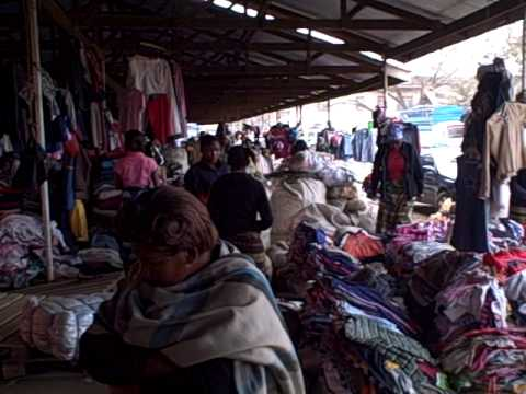 Experience an African Second Hand Clothing Market