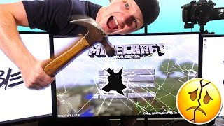 PSYCHO YOUTUBER RAGES OVER MINECRAFT!