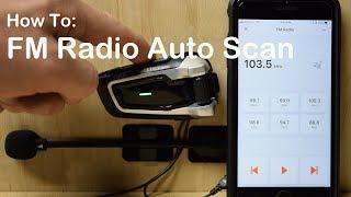 Cardo PACKTALK/BOLD - FM Radio Auto Scan