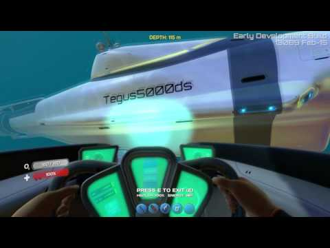 subnautica how to drive cyclops