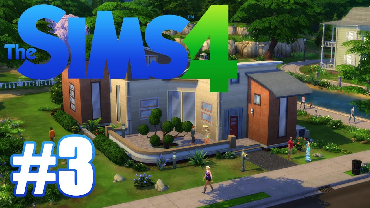 the sims 4 gameplay walkthrough episode 3 let 39 s go to. Black Bedroom Furniture Sets. Home Design Ideas