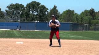 Rachel Shotzbarger Softball Skills Video
