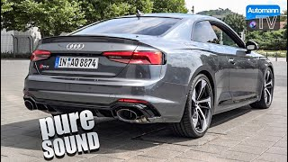 2018 Audi RS5 (450hp) - pure SOUND (60FPS)