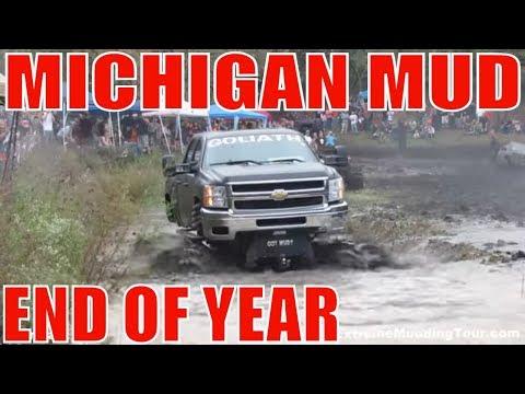 MICHIGAN MUD - BEST OF 2013 - MUD BOG ACTION