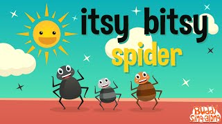 Itsy Bitsy Spider | Incy Wincy Spider | Kids Songs | Nursery Rhymes | Baby Songs