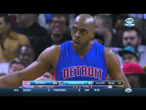 Anthony Tolliver Nice Pass to Andre Drummond