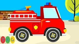 Xe Cứu Hỏa - Fire Truck | Hoạt Hình Cho Bé | TopKidsGames (TKG) 405