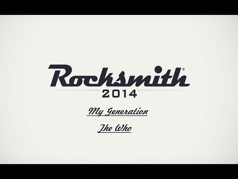 Rocksmith 2014 My Generation The Who