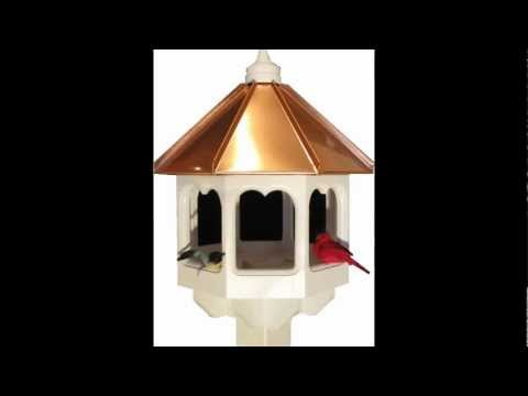 Gazebo Style Bird Feeder Plans
