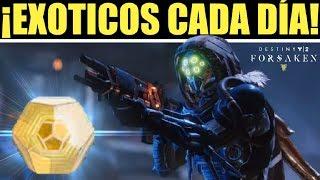 Destiny 2: COMO CONSEGUIR NUEVOS EXÓTICOS CADA DÍA! | Guía Forsaken