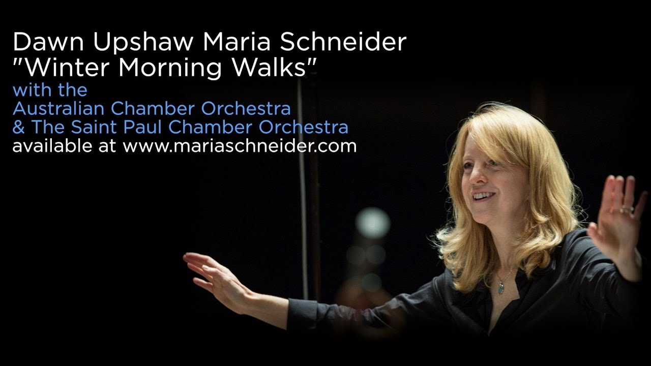Maria schneider s quot winter morning walks quot a brand new recording