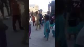 Amazing dance by cute little village girl