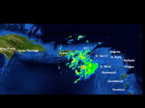 Tropical Storm Bertha - Radar imagery from Puerto Rico (August 2, 2014)