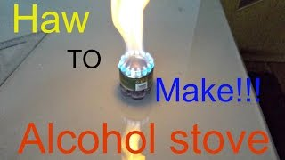 Alcohol Stove, Best Camping Stove
