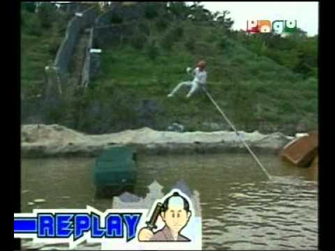 Takeshi's Castle Hindi Pogo Tv Funny Game Show video