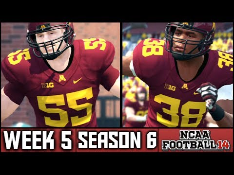 NCAA Football 14 Dynasty: Week 5 vs Michigan State [Big 10 Opener] (Season 6)
