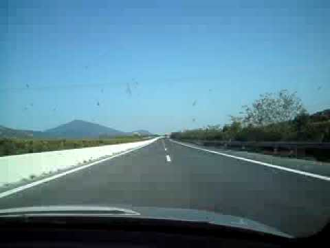 BMW M3 E46 travels with 280km/h at egnatia odos