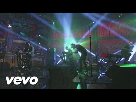 Foster The People - Miss You (Live @ Letteman)