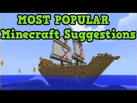 Minecraft - MOST POPULAR IDEAS EVER (Top 10)