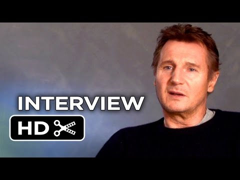A Walk Among the Tombstones Interview - Liam Neeson (2014) - David Harbour Crime Drama HD