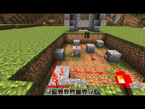 Minecraft - Les MDC 29 Une simple porte murale