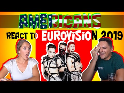 Americans React to Eurovision 2019