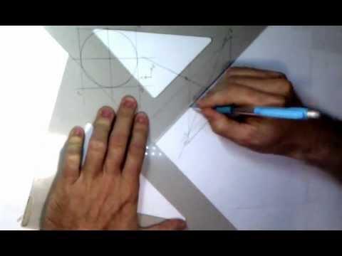 Metodo rapido para dibujar una elipse en perspectiva