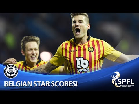 Belgian star Frans scores first goal in Scottish football