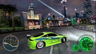 Need for Speed: Underground 2 - Eclipse Brian O' Conner Tuning