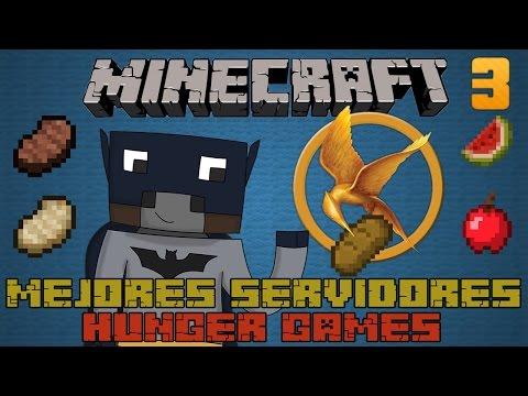 Mejores Servidores de Juegos del Hambre NO PREMIUM y PREMIUM - Minecraft [1.7.4/1.7.9]