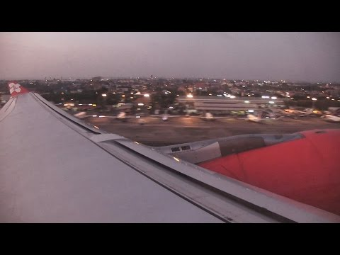 Air Asia X A330-300 Takeoff Bali