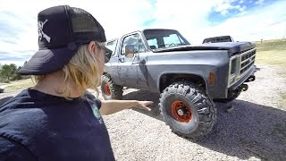 These tires are F'N HUGEEE!! + other Truck Stuff