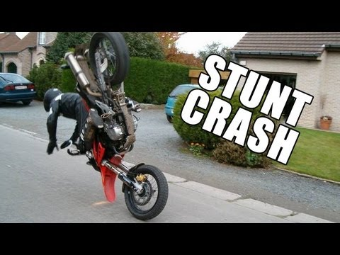 Stunt crash