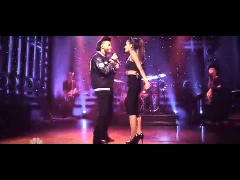 Ariana Grande - Love Me Harder ft The Weeknd (Live on SNL)