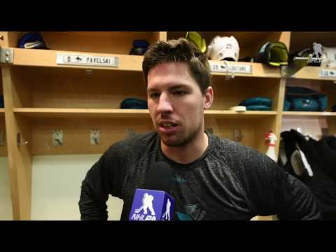 In The Locker Room - Logan Couture