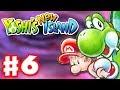 Yoshi's New Island - Gameplay Walkthrough Part 6 - World 6 - Bowser Boss Fight!  (Nintendo 3DS)