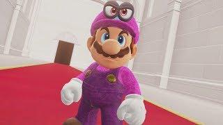 Purple Mario in Super Mario Odyssey - Final Boss & Ending