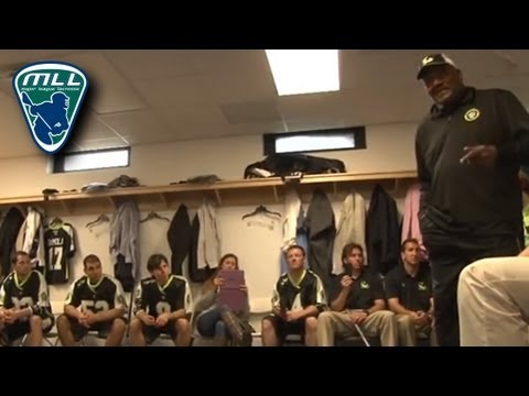 Jim Brown New York Lizards Pre-Game Speech