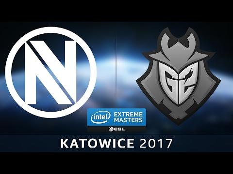 CS:GO - EnVyUs vs. G2 [Train] Map 2 - IEM Katowice 2017 - EU Qualifier - LB Round 3