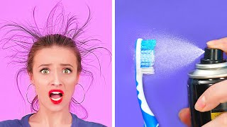 EASY HACKS EVERY GIRL SHOULD TRY || Cool Hacks for Smart Girls by 123 GO!