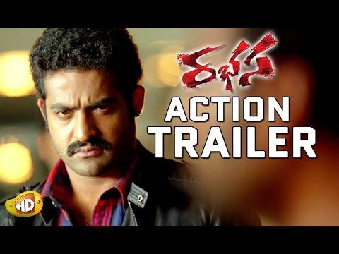 Rabhasa Action Trailer Is out - Jr NTR, Samantha, Pranitha Subhash, Brahmanandam