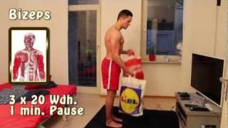Fitness für zu Hause Trainingsplan Einsteiger
