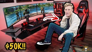 Fortnite YouTubers With Most Expensive Gaming Setups! (Tfue, Pokimane, Courage)