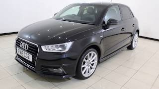 AUDI A1 1.6 SPORTBACK TDI S LINE 5DR 114 BHP 1 Owner Full Service History