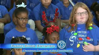 Christmas Concerts 2018 - Factory Shoals Elementary
