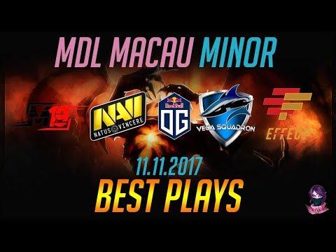 MDL Macau Minor - BEST PLAYS - 11.11.2017 Highlights Dota 2 by Time 2 Dota #dota2
