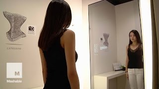 This Smart Mirror Helps You Determine Your Bra Size | Mashable News